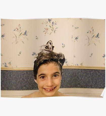 Shampoo Hairdo Poster