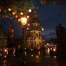 Fresh summer evening in an European city by christopher363