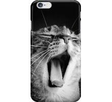 Half Yawn iPhone Case/Skin