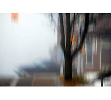 Foggy City Photographic Print