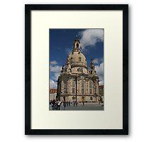Frauenkirche, Dresden, Germany Framed Print