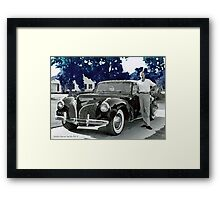 Driving in Style Framed Print