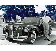 Driving in Style Photographic Print