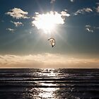Kitesurfer - Grau du Roi, France - 2010 by Nicolas Perriault
