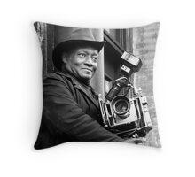 Photo man  Throw Pillow