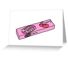 Hubba Bubba Greeting Card