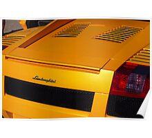 The art of the car: Lamborghini Gallardo (2007) Poster