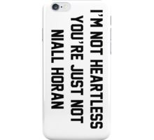 NOT HEARTLESS - NH iPhone Case/Skin