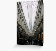 Bustling Brussels Greeting Card