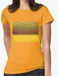Harvest original painting Womens Fitted T-Shirt