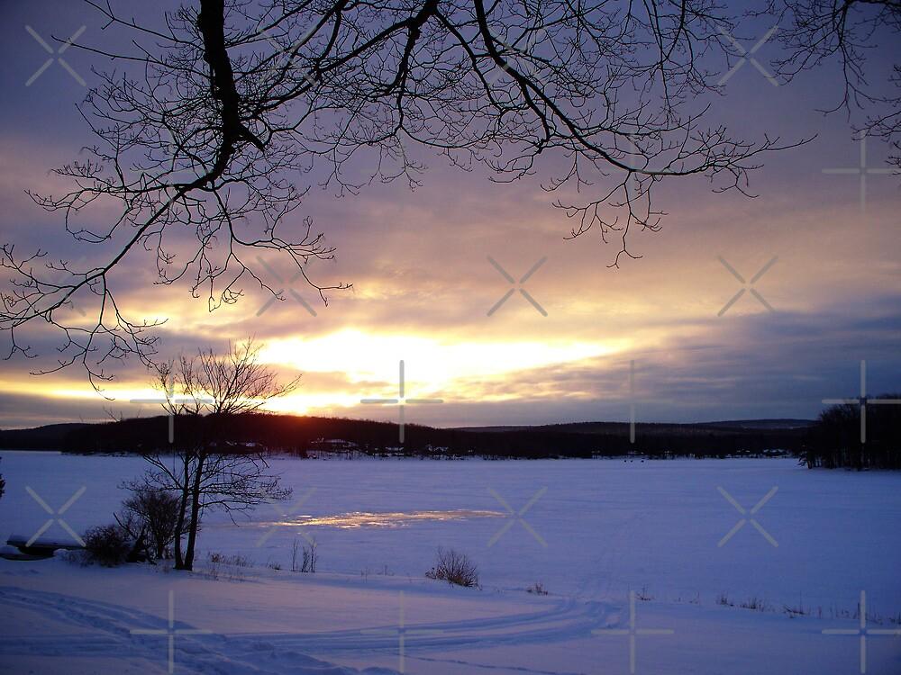 Lakeside- Deep Creek Dawn by Timothy Eric Hites