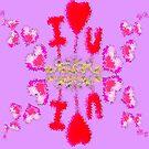 I love U,Valentine Wall Paper by MaeBelle