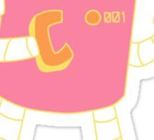Robot 001 Sticker