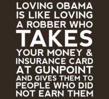 LOVING OBAMA by JohnGo