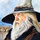 JR the Wizard Bard by JRGarland