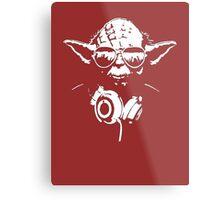 DJedi Yoda Metal Print