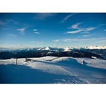 Neverending slopes Photographic Print