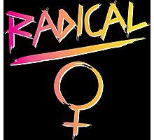 80s Radical Feminist Photographic Print