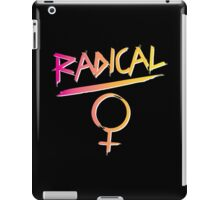 80s Radical Feminist iPad Case/Skin