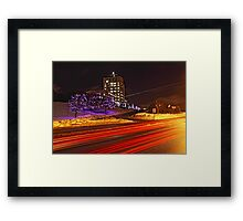 Confederation Lights Framed Print