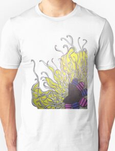 Abstract Flower with Tentacles Unisex T-Shirt