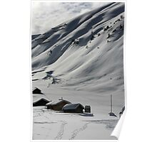 Dolomiti winter  Poster