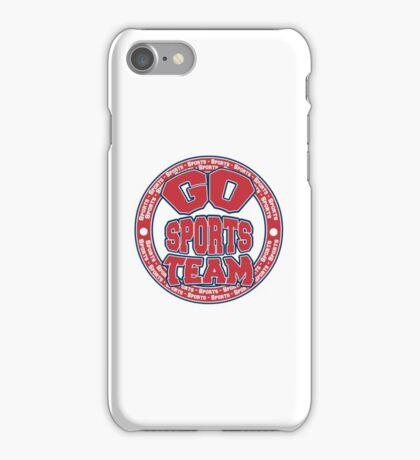 Go Sports Team iPhone Case/Skin