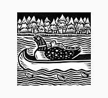 Loon in Canoe Unisex T-Shirt