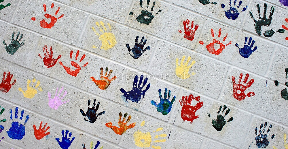 ...this is the hand you used to hold when i was only 5 years old... by Lynne Prestebak