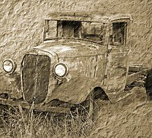 Parked Along The Country Road by CarolM