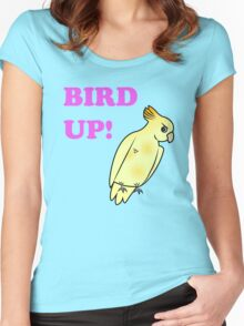 Bird UP Women's Fitted Scoop T-Shirt