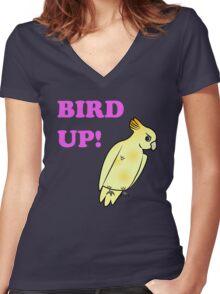 Bird UP Women's Fitted V-Neck T-Shirt