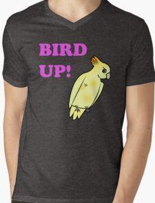 Bird UP Mens V-Neck T-Shirt