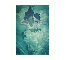 OCEANIC FAIRYTALES - Meeting the bride Art Print