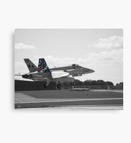 Spanish Air Force F18 Canvas Print
