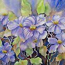 Purple Clematis by bevmorgan