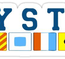 Mystic - Connecticut. Sticker