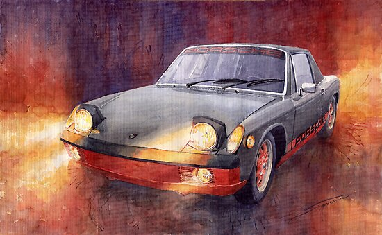 Porsche 914 by Yuriy Shevchuk