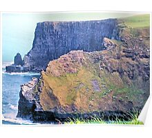 The Cliffs of Moher Poster