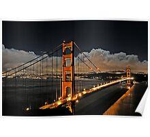 Golden Gate, San Francisco Poster