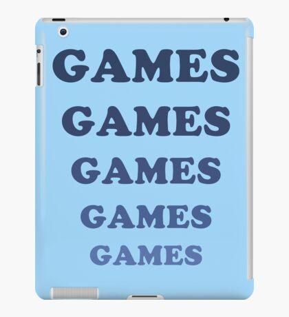 Games Games Games iPad Case/Skin