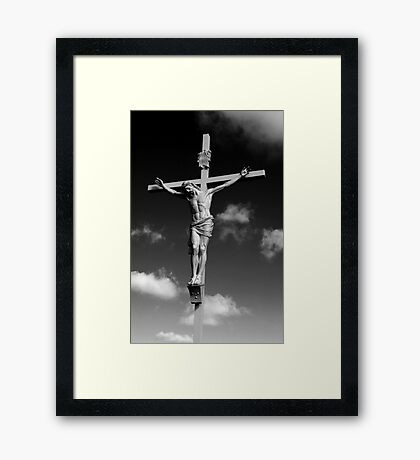 Christ Crucified Framed Print