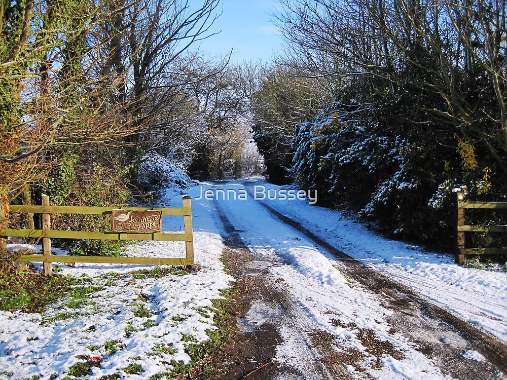 Snow scene by Jenna Bussey