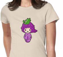 Grape Kokeshi Doll Womens Fitted T-Shirt