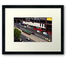 City Circle Miniature Framed Print
