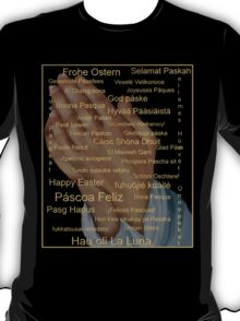 Happy Easter in all Languages T-Shirt