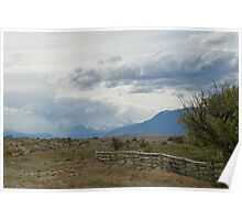 Beautiful Landscape from Patagonia Poster