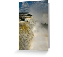 Iguazu Falls, Brazil Greeting Card