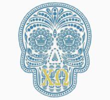 Chi Omega Skull by juliapram