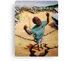 Help Haiti Canvas Print